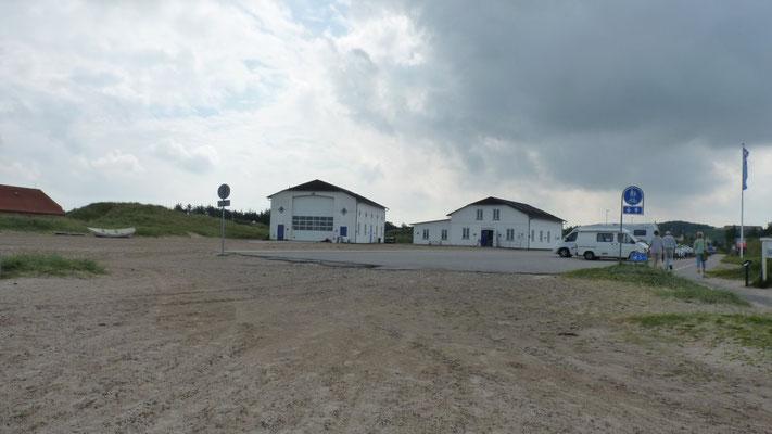 Schiffsbauhalle Slettestrand