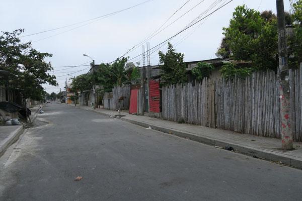 Straßen auf der Isla Trinitaria/Guayaquil