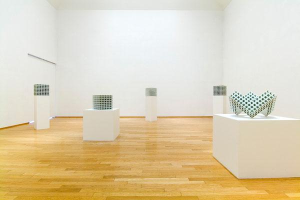 「亀井洋一郎展 Lattice Receptacle」アートコートギャラリー 2006