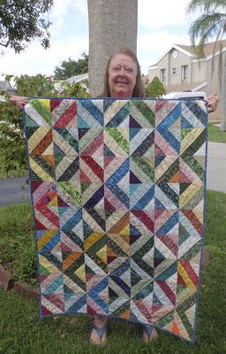 Scrap Quilt 2021 wall quilt
