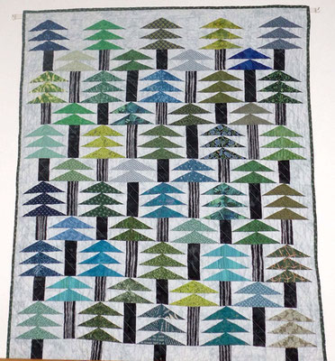 Forest quilt 2019