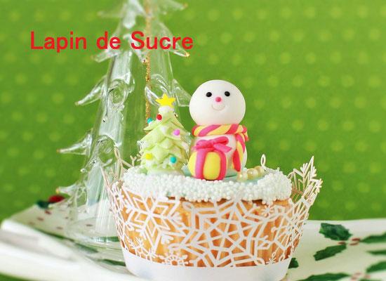 12月8日(木)クリスマスカップケーキ