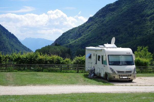 Camping-car au camping du Sappey-en-Chartreuse
