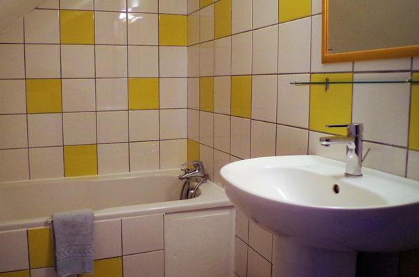 La salle de bain du studio 3
