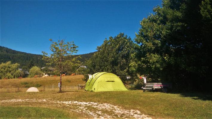 Tranquilité et calme au camping du Sappey en Chartreuse
