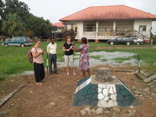 Het middelpunt van Benin City.