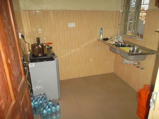 Keuken in een appartement.