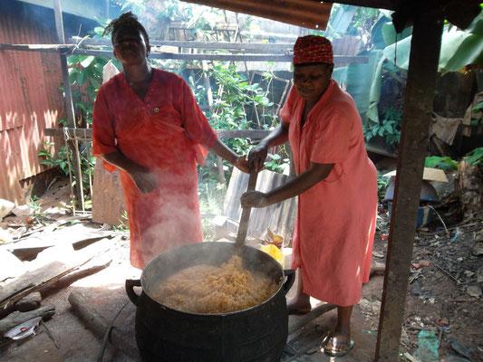 Vandaag rijst.