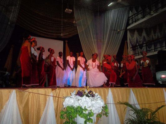 Traditionele Afrikaanse dans.