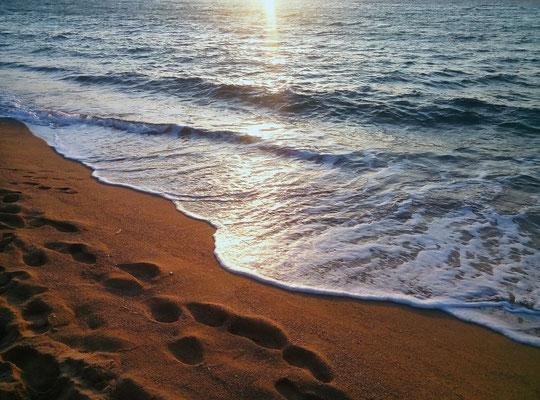 Fin de journée, fin de séjour - Balagne littoral - Tous droits réservés Agnès Addey ©