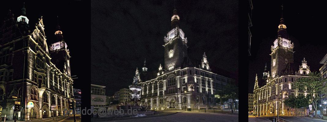 Historisches Rathaus Elberfeld, seitlich