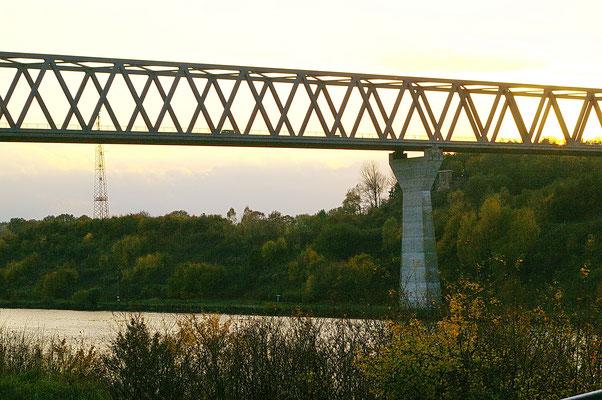 Grünentale Hochbrücke. Auch Treffpunkt für viele Aktionen unseres Vereins