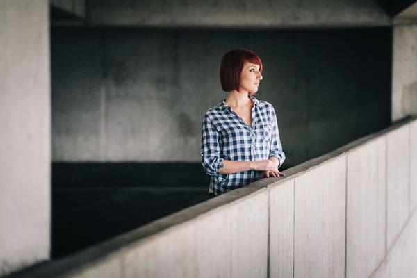 Urban, Portrait, Fotoshooting, Pforzheim, Parkhaus