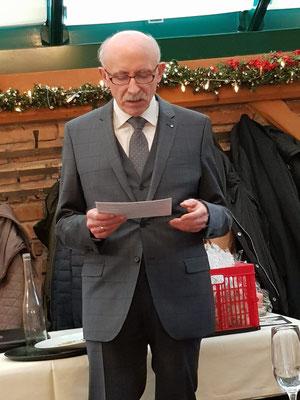 NÖSK Obmann Pemmer mit einer Ansprache