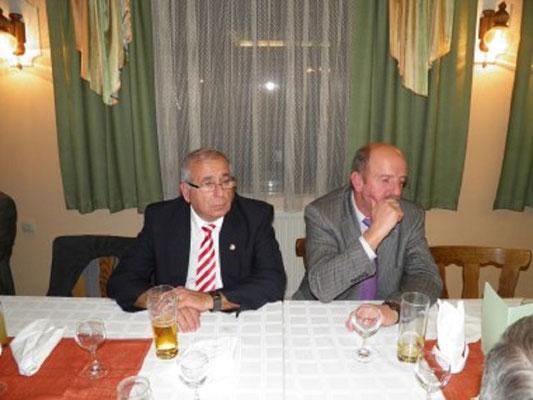 GL Hubert Pfeiffer mit Bgm. der Martkgemeinde Pfaffenschlag Hannes Semper