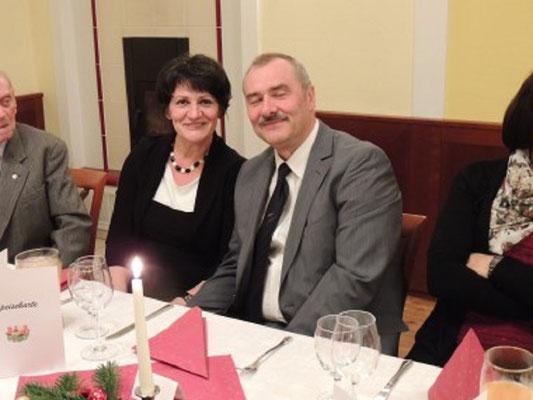 Vizepräsident Litschauer mit Partnerin