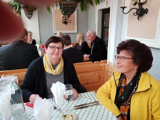 Frau Brandstötter mit Edith Pfeiffer