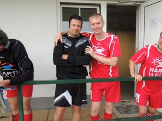 Markus Gerstbauer mit Kollege Geyer