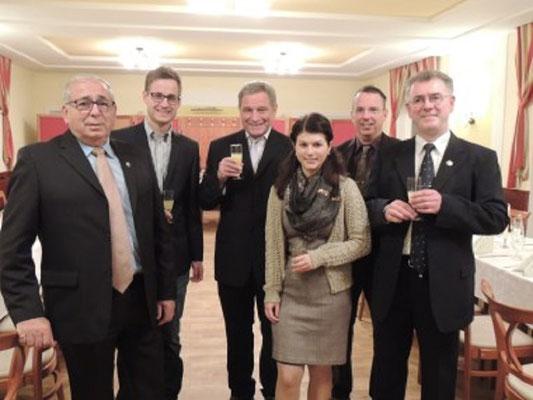 Unsere Gäste aus der Schiedsrichtergruppe Pocking in Bayern