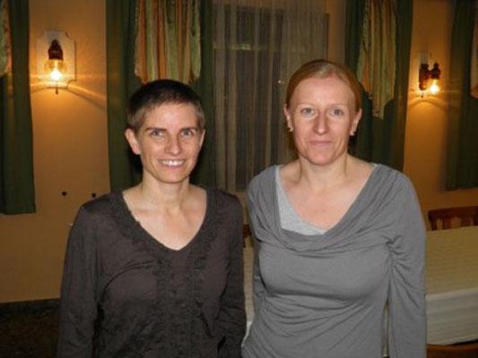 Die Frauenreferentinnen Ing. Renate Weisgrab und Sabine Fröhlich