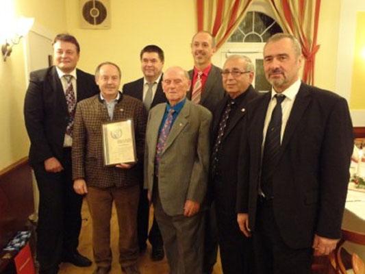 Plocek Willi Auszeichnung Ehrenzeichen des NÖSK in Silber