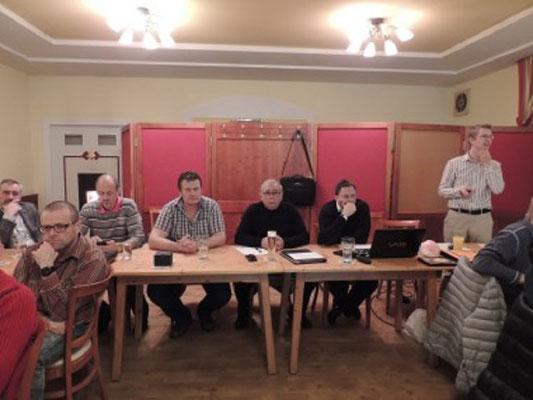 Gruppenleitung unter der Führung von GL Hubert Pfeiffer