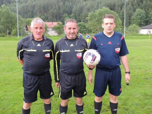 Schiedsrichterteam Weiss, Ratzberger, Kern