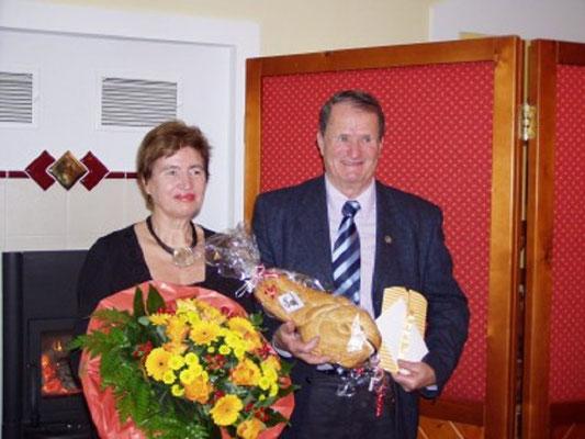 Kollege Weber Erich mit seiner lieben Gattin