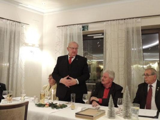 Präsident des NÖFV Johann Gartner