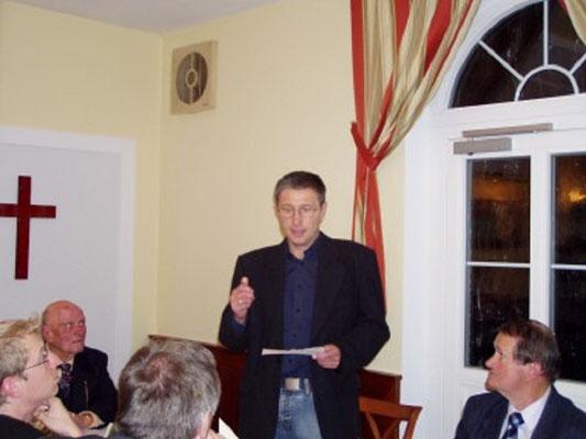 JHG  Waldviertel Gerhard Klein spricht über die Nachwuchsarbeit