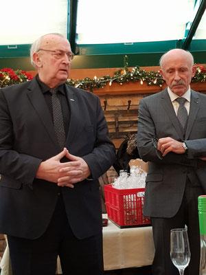 NÖFV Präsident Gartner mit NÖSK-Obmann Alois Pemmer