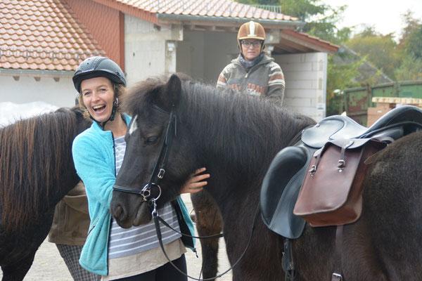Juliane und Terna - ein tolles Team