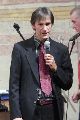 Martin Klingler, Chorleiter der Sängervereinigung Müllheim