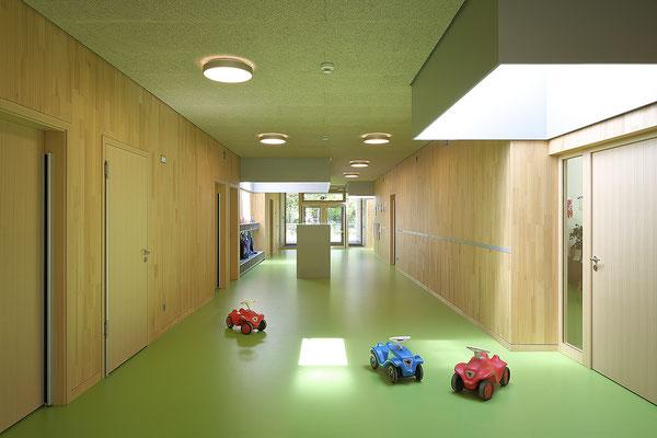 Kinderhaus Hagelloch, Spielflur