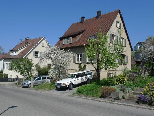BERG Zustand vor der Sanierung des Einfamilienhauses aus dem Baujahr 1938