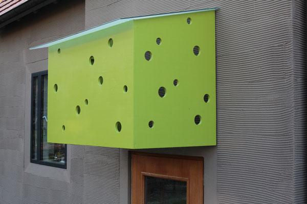 BERG energetische Sanierung, Vordach