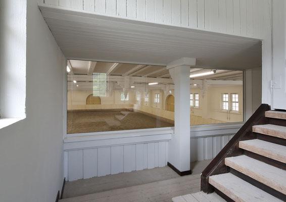 Historische Reithalle Marbach, Loge