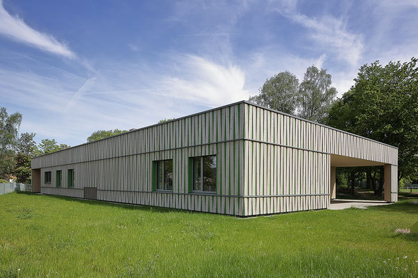 Kinderhaus Hagelloch, Nordwestseite