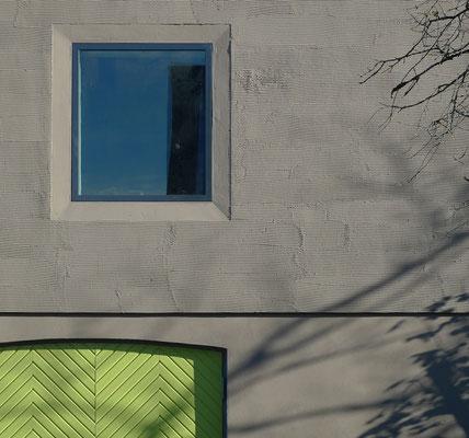 BERG energetische Sanierung, Fassadendetail