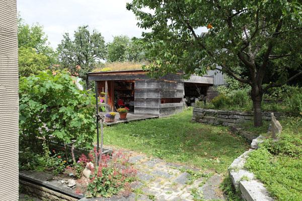 BERG energetische Sanierung, Gartenhaus