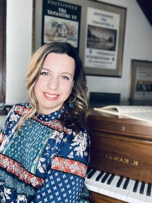 Mirjam Becker, Klavierlehrerin in Heidelberg