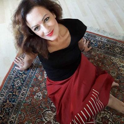 Lucia Fodde, Lehrerin für Jazzgesang in Kreuzberg und Mitte