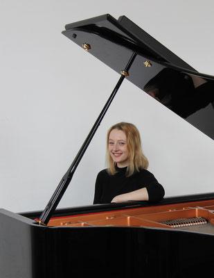 Katharina Justus, Klavierunterricht in Leipzig