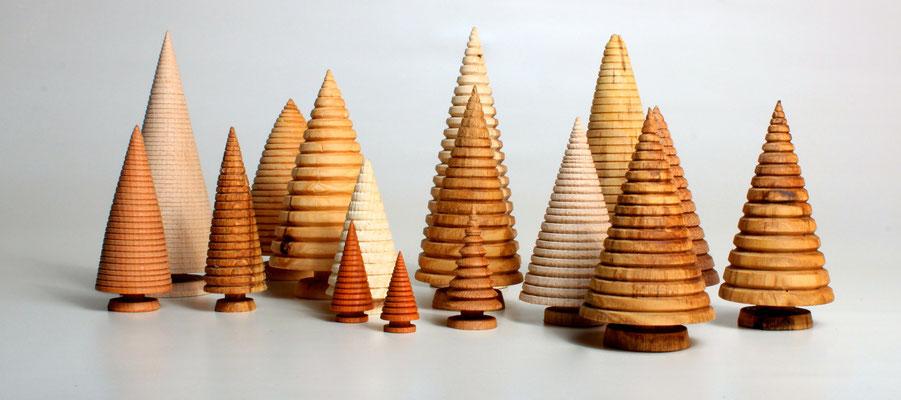 Weihnachtsbäume - ca. 2 bis 15 cm groß