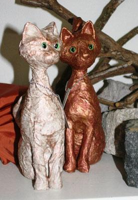 DIE SCHATTIERUNG DES GLÜCKS! Katze 27 cm, SCHNURRENDE SINNLICHKEIT!   Katze 29 cm