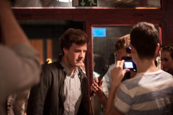 Luke Mockridge bei der Blind Audition Photo by Alex Chepa
