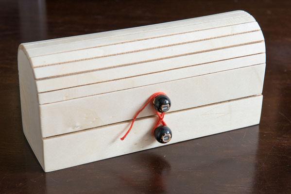 Schachtel aus Pappelsperrholz