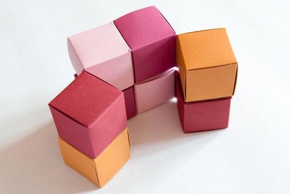 Flexicube aus Papier