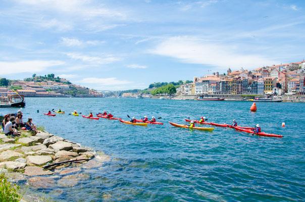 Kayak on the Douro River ©Porto Moments