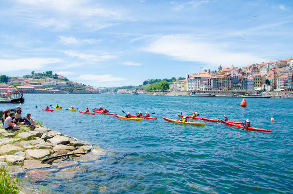 Kayak on the Douro River ©Porto Moments